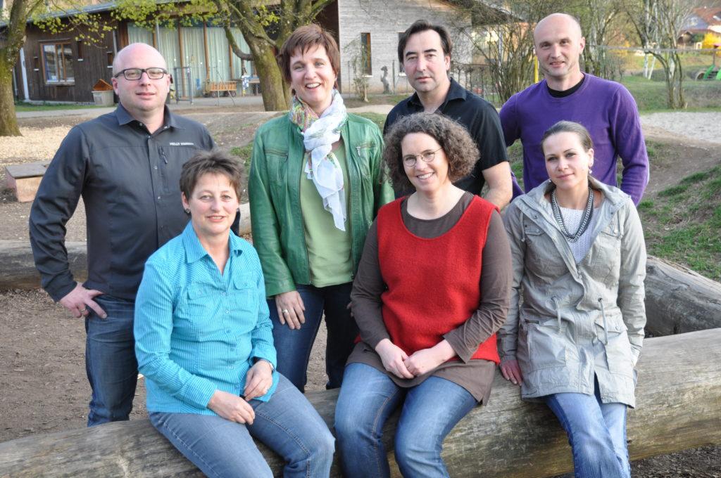 Gruppenbild der Kandidierenden für die Gemeinderatswahl 2014