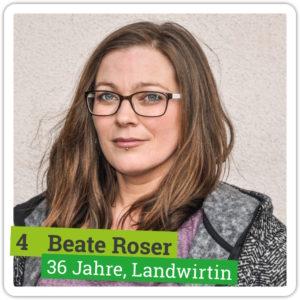 Portrait von Beate Roser, 36 Jahre, Landwirtin