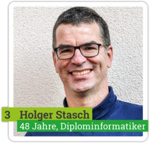 Portrait von Holger Stasch, 48 Jahre, Diplominformatiker