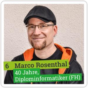 Portrait von Marco Rosenthal, 40 Jahre, Diplominformatiker (FH)