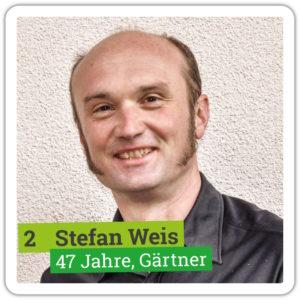 Portrait von Stefan Weis, 47 Jahre, Gärtner