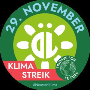"""Verschmelzung des ÖL-Logos mit dem """"Fridays for Future""""-Logo."""